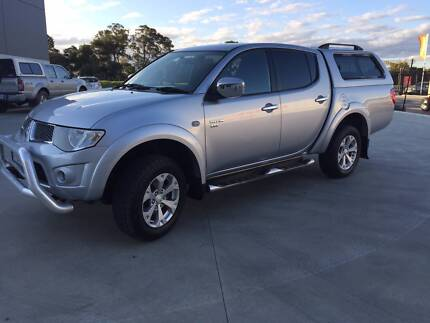 2010 Mitsubishi Triton GLX-R 4x4 Dual Cab Ute with Canopy Cambridge Clarence Area Preview