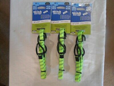3 ROK Straps All Purpose Flat Tie Down Luggage Strap with hooks 30