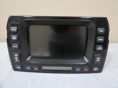 ✅ 04 05 06 07 Jaguar XJ8 Audio Radio AC Climate Control GPS NAVI Screen Unit OEM