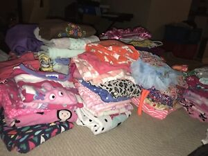 Lot of baby girl clothes- perfect condition