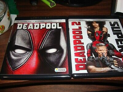 Deadpool (Blu Ray Disc only) & Deadpool 2 (4K Disc only)