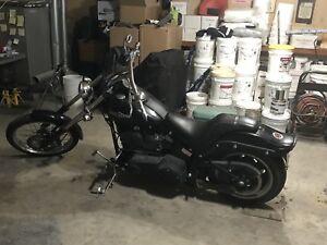 2008 Harley Davidson Fxstb Night train $10000
