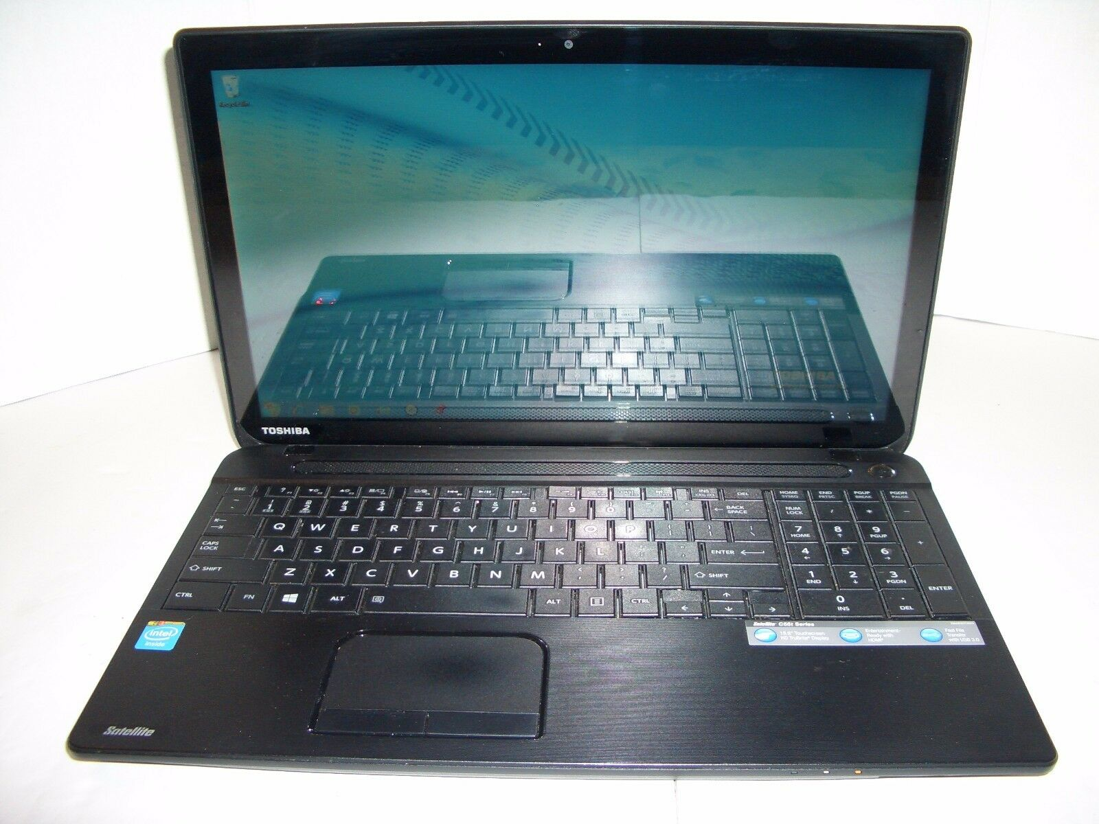 "TOSHIBA C55-A5182 15.6""TouchsScreen  4th GEN CORE i3-4000M 4GB 750GB HDD WIN7/13"