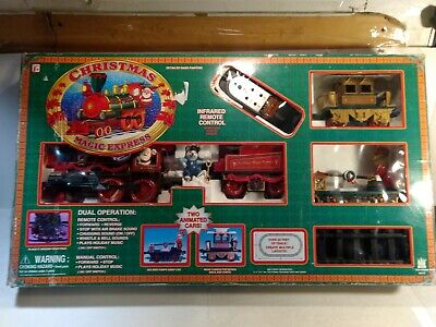 Toy State Remote Control Christmas Magic Express G Gauge Scale Train Set tr2174