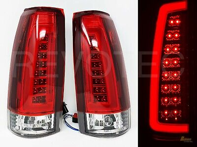 88-98 Chevy GMC C/K C10 1500 2500 Truck Silverado Sierra C Bar LED Tail Lights