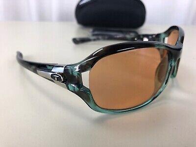 Tifosi Dea SL 3703 SUNGLASSES 65-20-125 Green Tortoise Rectangle Sport (Tifosi Sport Sunglasses)