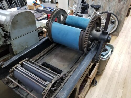 Vandercook Roller Series No. 20 Cylinder Galley Press Letterpress proof press