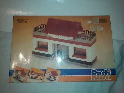 Rare Vintage Hering Rasti Building Blocks Set Made In Brazil Knockoff Lego Set