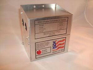 HD 1 - 3 Hp Static Phase Converter Mill Drill Lathe Saw USA single to three SC03
