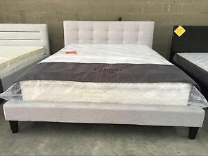 Fabric Bed Grey Double $280 Queen $300 High Quality Melbourne CBD Melbourne City Preview