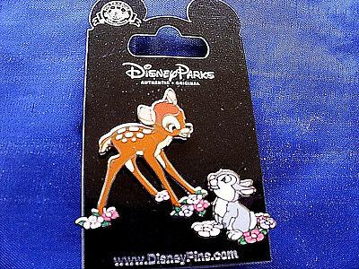 Disney * BAMBI & THUMPER * 2 Pin Set  * New on Card Trading Pins - Disney Thumper
