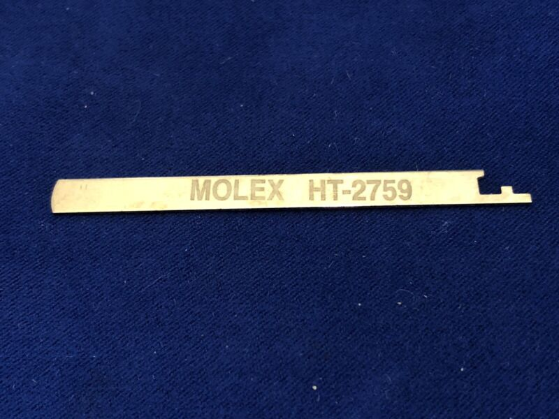 USED MOLEX HT-2759 EXTRACTION TOOL ~ NUMBER #11-03-0022
