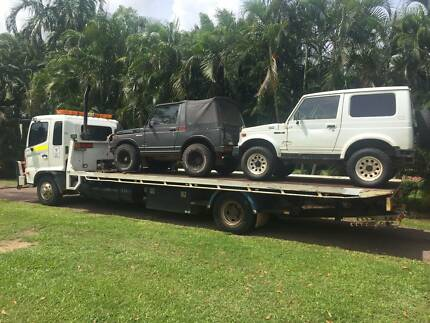 Tilt Tray Towing 24/7 Service Herbert Litchfield Area Preview
