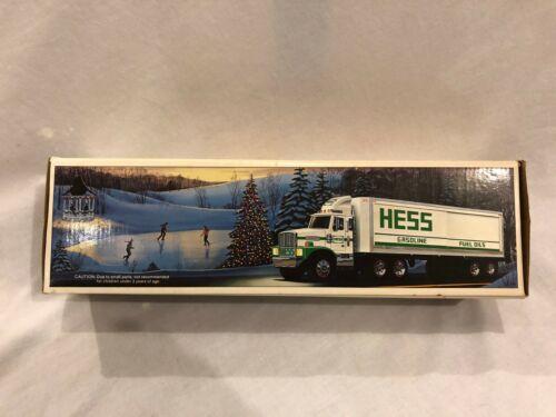 1987 Hess Toy Truck Bank & 1 Barrel