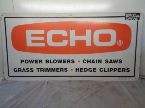 ECHO Chainsaw Sign Blowers, Trimmers, 48