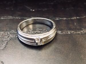 Men's Double Diamond Ring