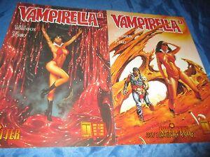COMICS ,  VAMPIRELLA  ,  Nr. 2  , COVER 1 + 2 , Horror  COMIC , Splitter / # 99