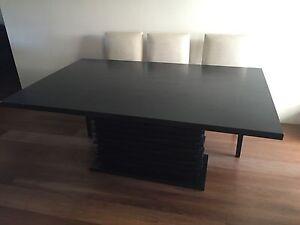 Black dining table Sans Souci Rockdale Area Preview