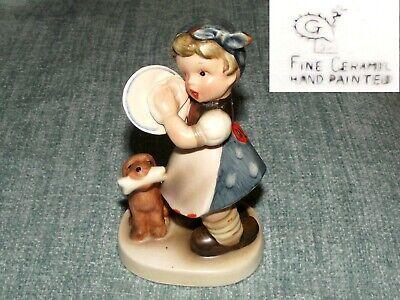 * VINTAGE * ?? Goebel / Hummel ?? Girl Figurine * Hand Painted *