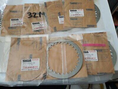7 X GENUINE <em>YAMAHA</em> PLAIN STEEL CLUTCH PLATE 371 16325 00 XJ600 FZ600 X