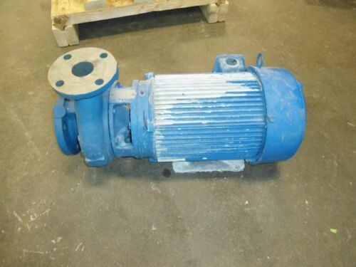 Flowserve Centrifugal Pump with US Motors Emerson EA47 Electric Motor