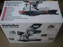 METABO KS 216M laser cut mitre saw-LIKE NEW Somerton Park Holdfast Bay Preview