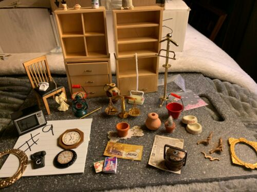 Miniature Doll House Lot 09 Household Goodies
