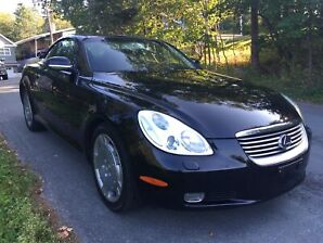 Immaculate with Low Mileage: 2003 Lexus SC430 Convertible