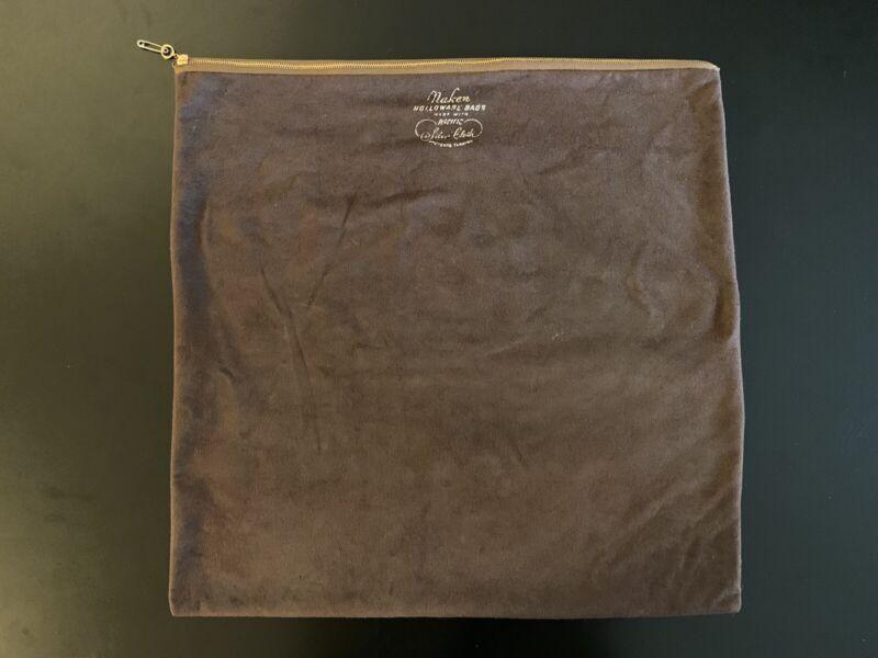 Vintage Naken Pacific Silvercloth Anti-Tarnish Zippered Holloware Bag