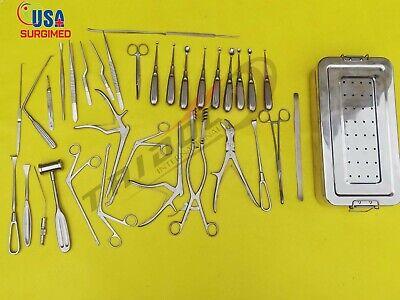 Laminectomy Set 35 Pcs Surgical Orthopedic Instruments