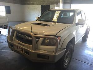 Wrecking 2008 Holden Colorado RC turbo diesel manual 4X4 or sold as is Nerang Gold Coast West Preview