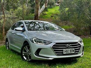 2015 Hyundai Elantra AD MY17 Active Platinium Silver/cha 6 Speed Sports Automatic Sedan Reynella Morphett Vale Area Preview