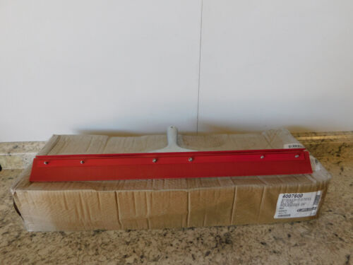 """6 NEW Carlisle 24"""" Straight Steel Rubber Squeegee 4007600 NEW"""