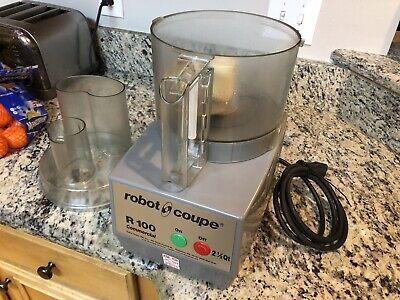 Robot Coupe R100 2.5 Qt Commercial Food Processor Sim To R2 R101b