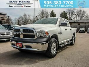 2015 Ram 1500 TRAILER TOW, KEYLESS ENTRY, SIDE STEPS