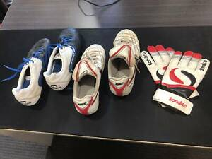 Kids Soccer Boots (Nike and Sondico) and Sondico Gloves Labrador Gold Coast City Preview