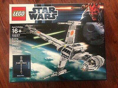 NEW LEGO Star Wars B-Wing Starfighter 10227, SEALED!