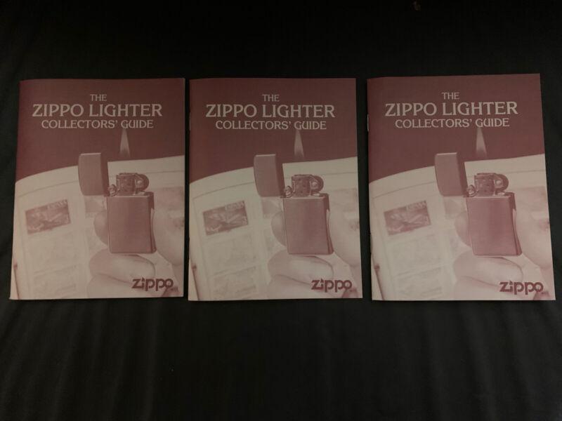 LOT 3 PCS ZIPPO LIGHTER COLLECTORS GUIDE
