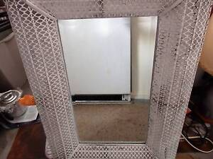 Mirror with metal surround. Woonona Wollongong Area Preview