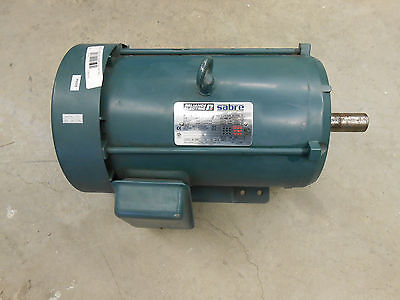 Reliance Electric Sabre 10hp P21s3027 Bd Electric Motor