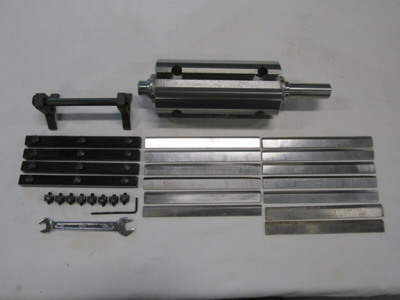 """Jointer Cutting Head 6"""" 4 Knife For Grizzly Model #G0604 w/ Knife Setting Gauge"""
