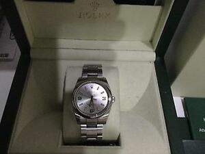 Rolex  Oyster Perpetual  Air King Silver Stainless Steel Canobolas Cabonne Area Preview