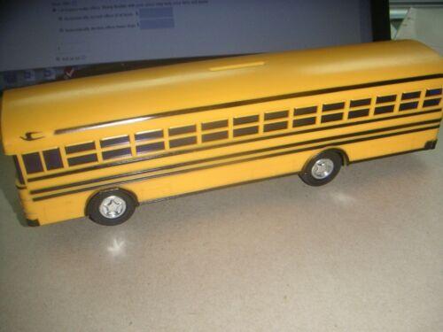 """Blue Bird All American / All Canadian 10"""" School Bus Bank w /Box New"""