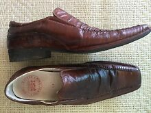 Men's leather River shoes size 10 Seymour Mitchell Area Preview