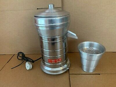 Amamaster Commercial Stainless Juicer 110 Volts Es4 Good Working Condition