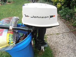 1970 Johnson Seahorse Outboard Motor 20 Hp Runs Great And