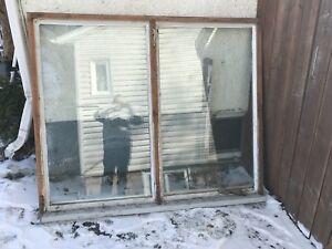 4.5 ft by 6ft window