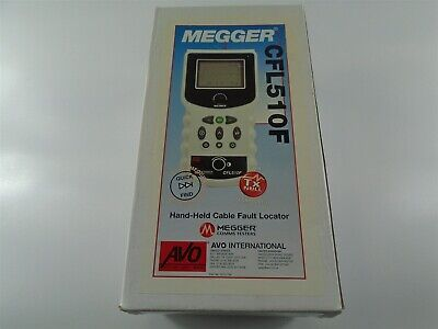 New - Megger Avo Cfl510f Hand-held Cable Fault Locator