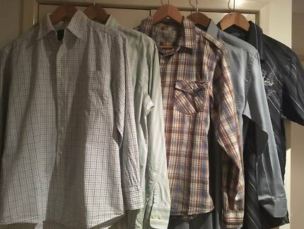Bulk Men's Shirts Size L  Gazman/Van Heusen/Cotton On $10 the lot