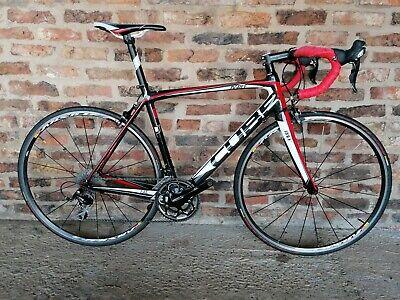 Mens Cube carbon road bike, size 54cm + Mavic Cosmic Elite Wheelset